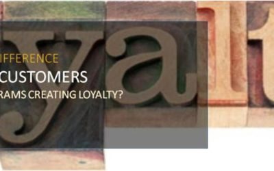 Customer Experience:  Are Reward Programs Creating Loyalty?